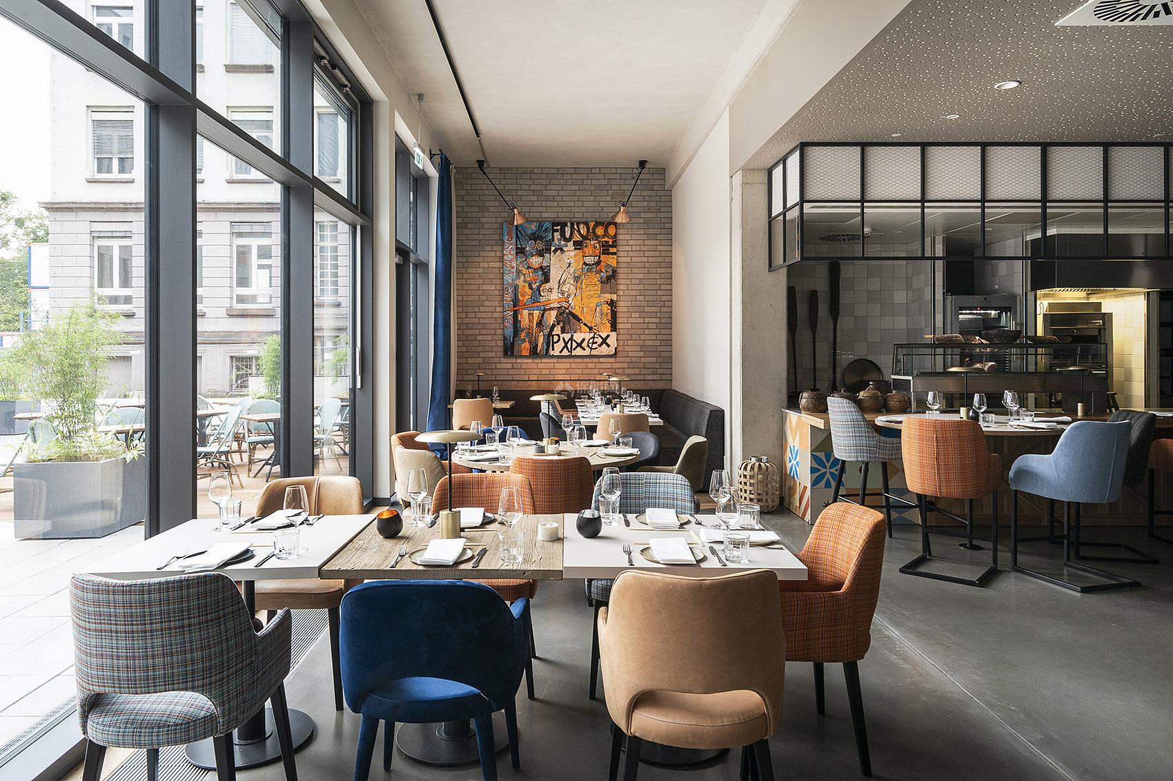 """哥廷根Freigeist酒店之""""Intuu""""餐厅设计效果图"""
