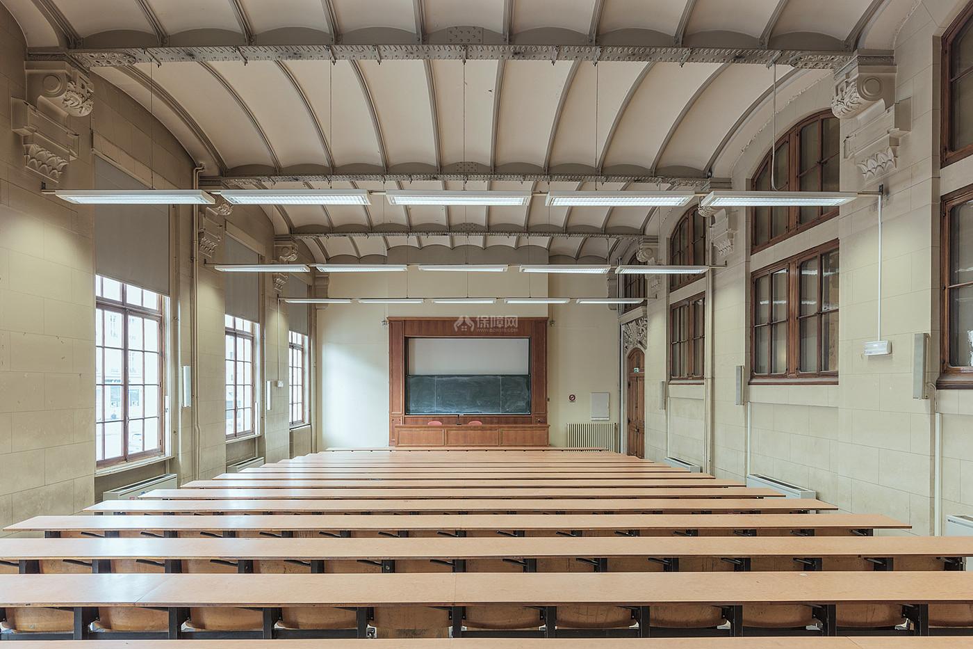 阶梯教室文化场馆之创意灯饰效果图