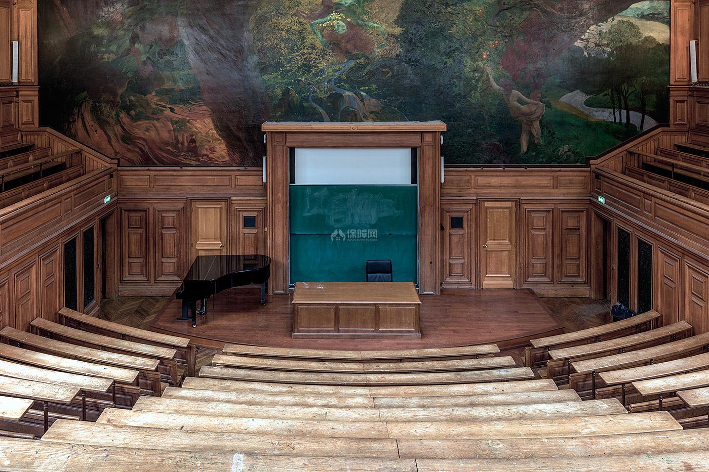 阶梯教室文化场馆之演奏台设计效果图