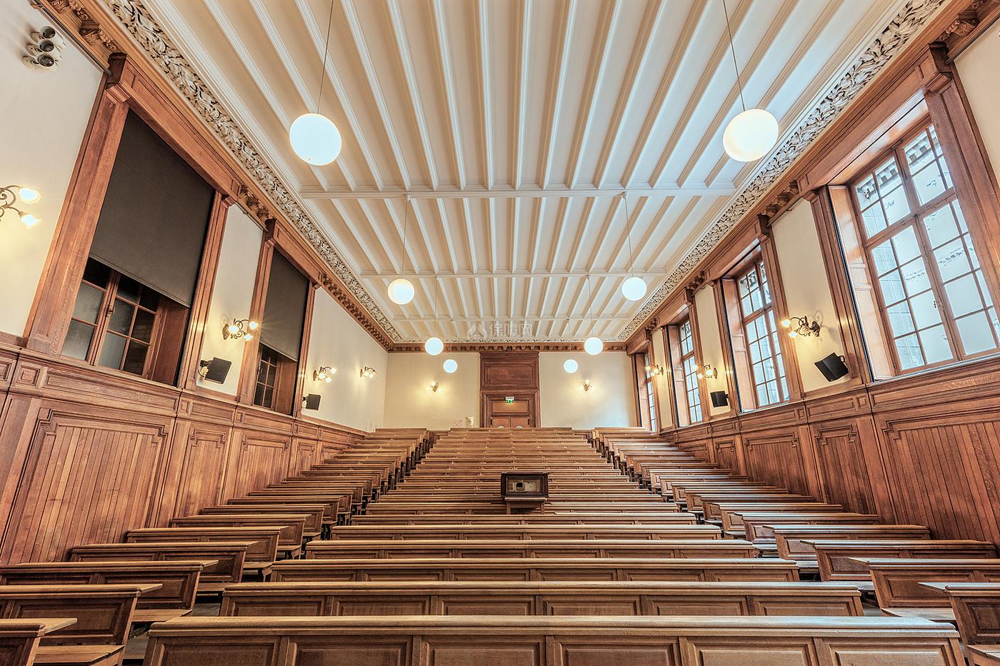 阶梯教室文化场馆之阶梯式座位设计效果图