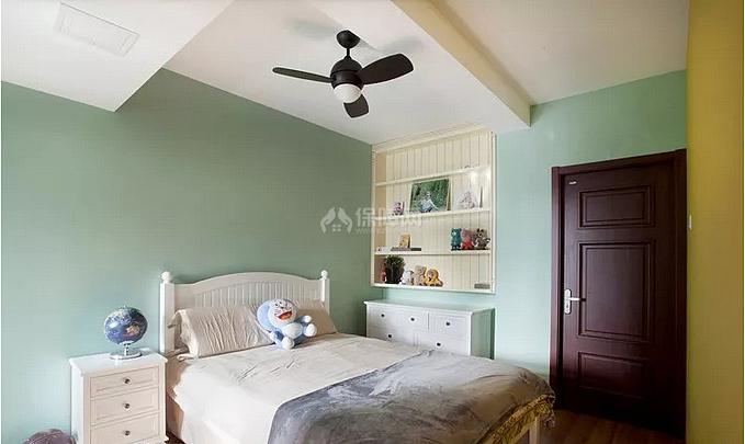 120㎡简美风复式之儿童房装修布置效果图