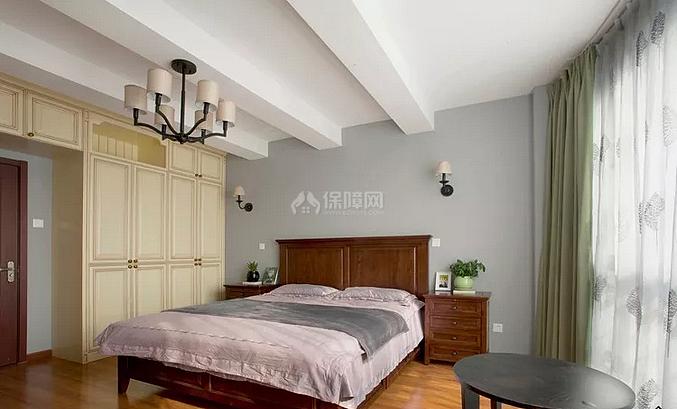 120㎡简美风复式之老人房装修布置效果图