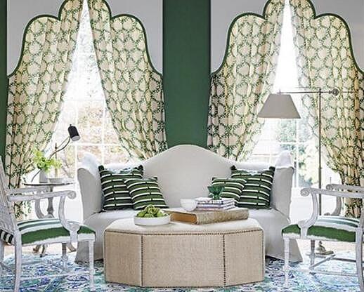 美式风格窗帘以及其他软装搭配技巧