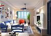 65㎡地中海小户型装修案例 创造清新舒适家居