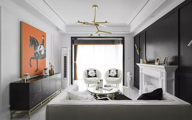 多款美式风格客厅效果图案例 总有你喜欢的 值得收藏!