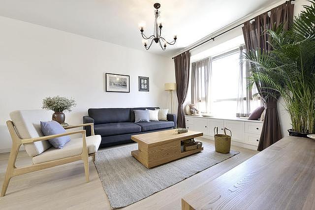 67㎡原木风格家装 让家居生活更加精致
