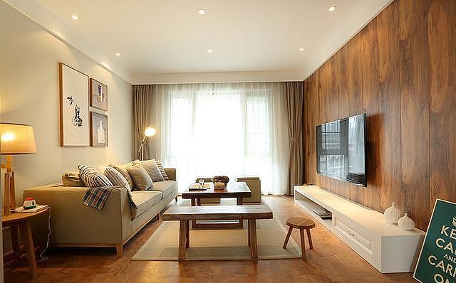 新房必威app注册案例 客厅装修设计的非常有温馨感