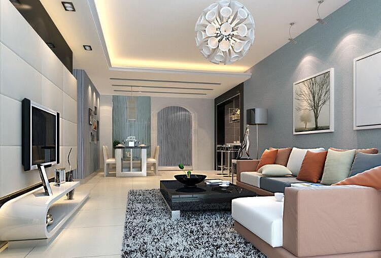 客厅墙面颜色选择风水 这5种颜色千万不要用