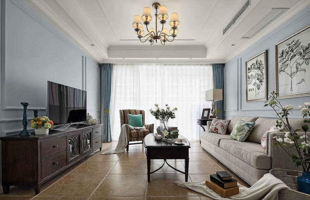 美式风格客厅用什么地砖 这5种最流行