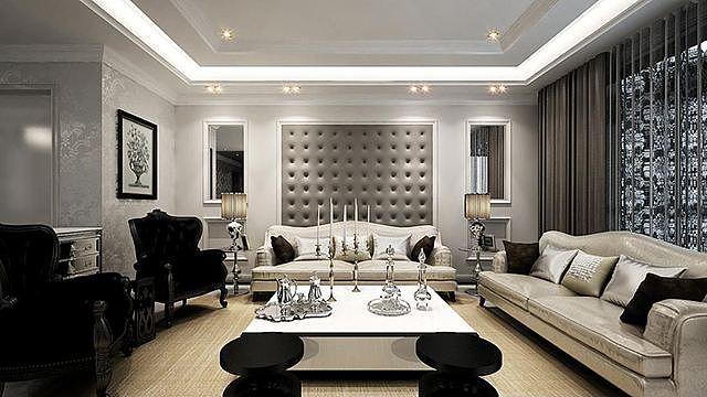 选对客厅地板材料装修 才不负新房装修设计