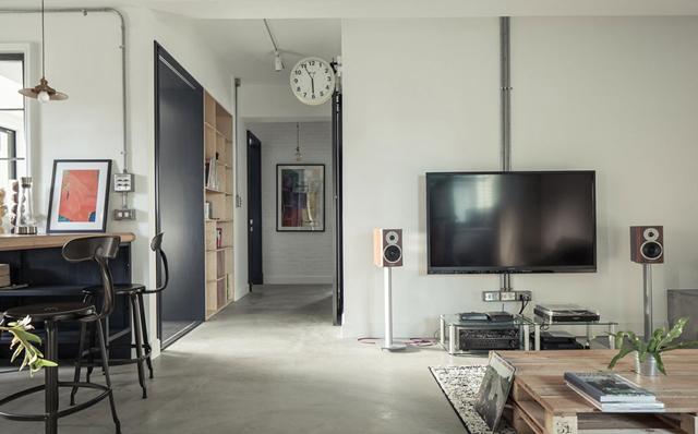 房屋改造法式优雅Loft 展现随兴不羁的Loft风格