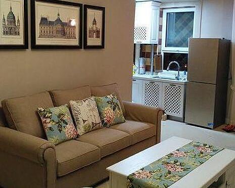 60平小户型美式装修 简单舒适的小家