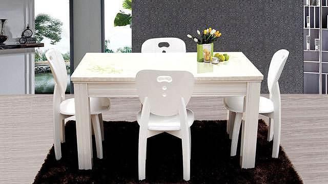 学会这些餐桌台面选择方法 让你拥有高颜值又耐用的餐桌
