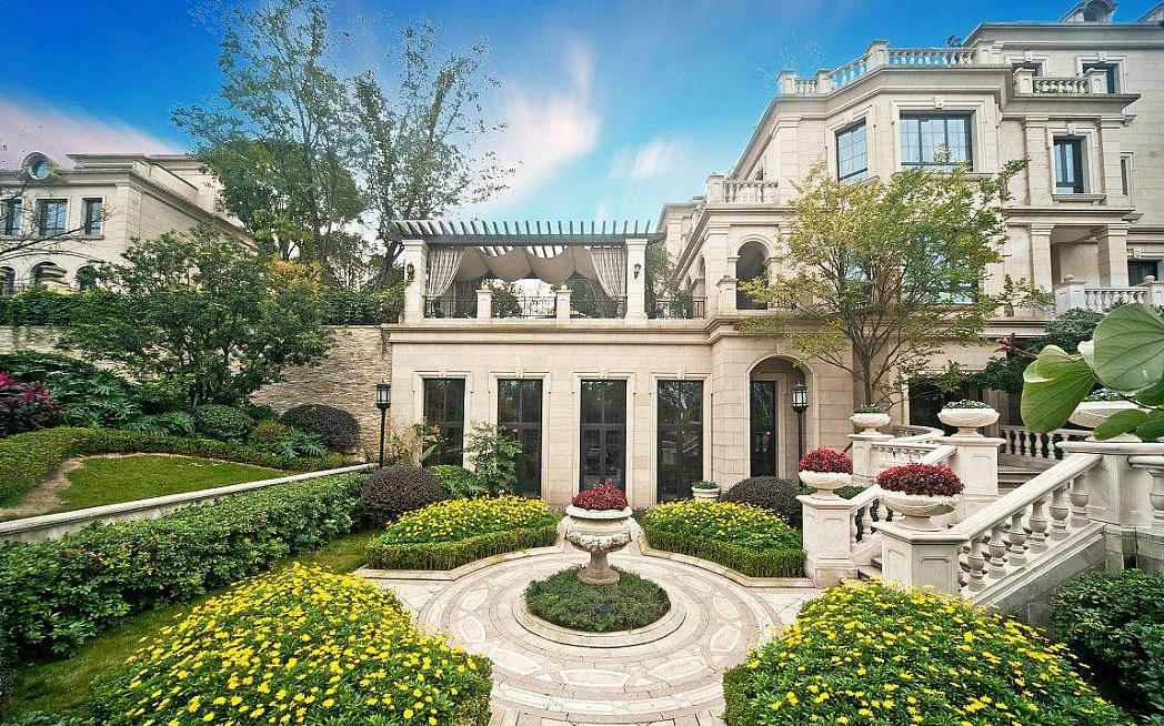 别墅的装修设计应强调人与自然和谐理念