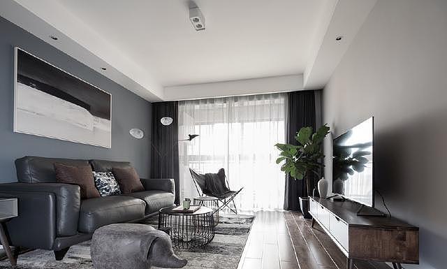 现代简约风格家装 高级灰设计每一寸都美极了