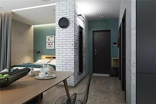 小户型简约风格装修设计 打造清新淡雅的空间