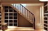楼梯下方空间改造利用 家里的杂物有地方放了