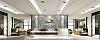 中式办公室装修效果图鉴赏,展现中国风光