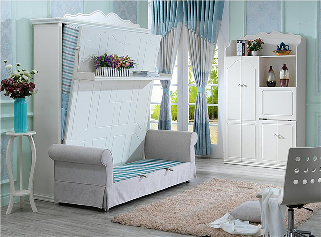 小户型不要买大床了 隐形收纳床帮你省出4平米