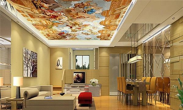 天花板的种类有哪些? 天花板吊顶施工工艺流程?
