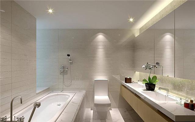 卫生间灯光设计和灯具选择知识