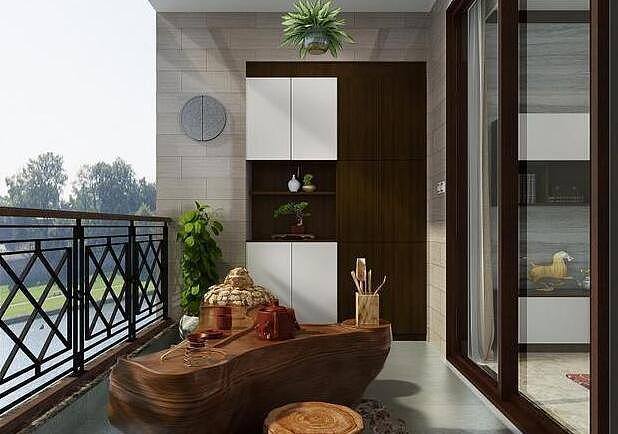 客厅连阳台如何装修 客厅连阳台装修效果图