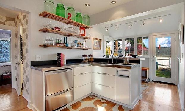 厨房用具多无处安放 来看看这些厨房收纳方法怎么样