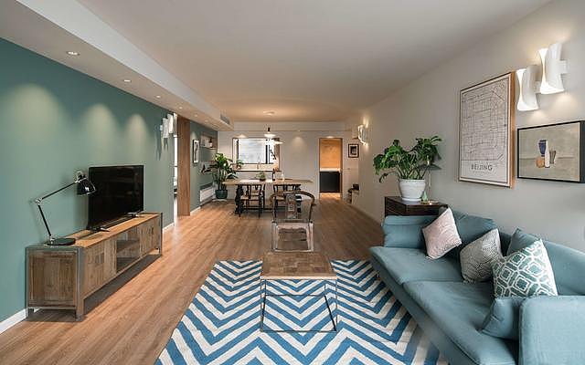 76㎡小户型素雅北欧风格 打造清新感的家装