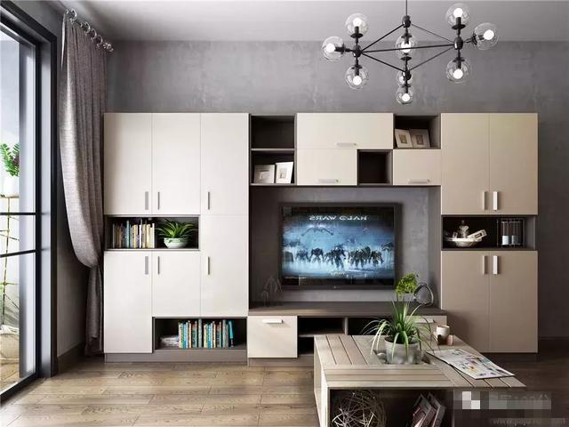 客厅电视柜多高_好看的电视柜 这些款式让客厅告别脏乱差 - 装修保障网