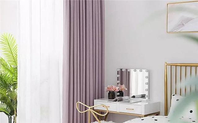 2019年流行这几种颜色的窗帘 非常唯美大气