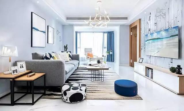 115㎡新房装修设计 营造温馨又舒适的简约北欧风家装!