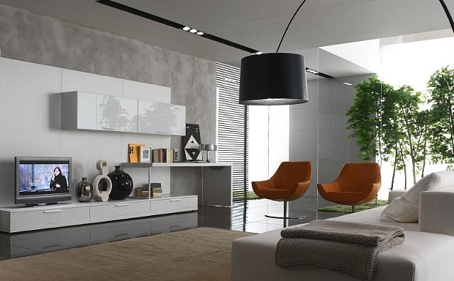 客厅装修铺哪种瓷砖颜色比较好 来看看这几个案例你是否喜欢