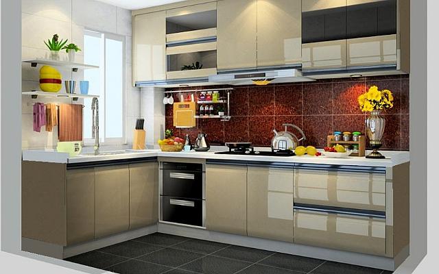 这些小户型厨房L型橱柜案例 有没有适合你家的呢
