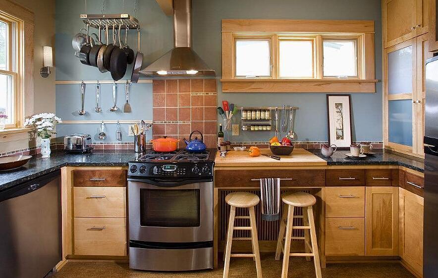 厨房风水这样布局 帮助你积累财富