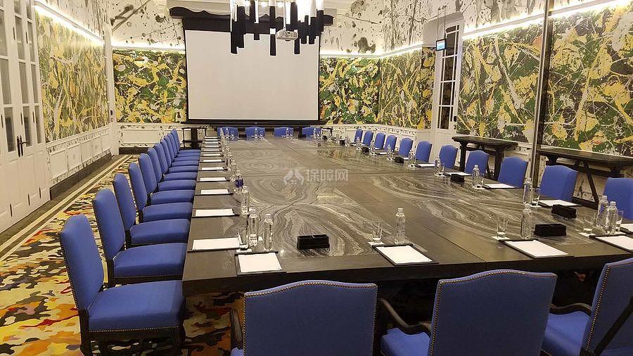 JW万豪酒店之会议大厅装修设计效果图