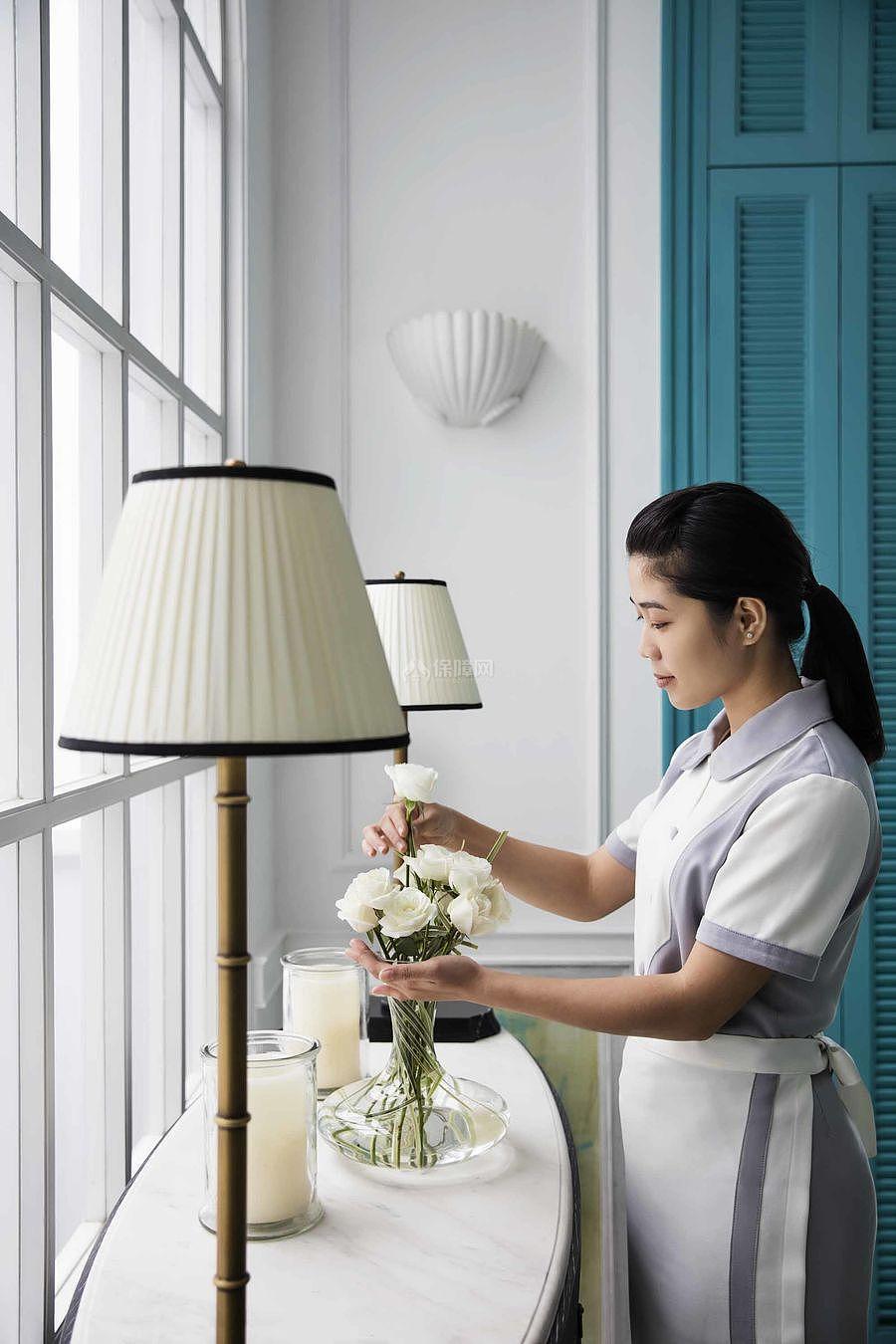 JW万豪酒店之单人套间一软装装饰效果图