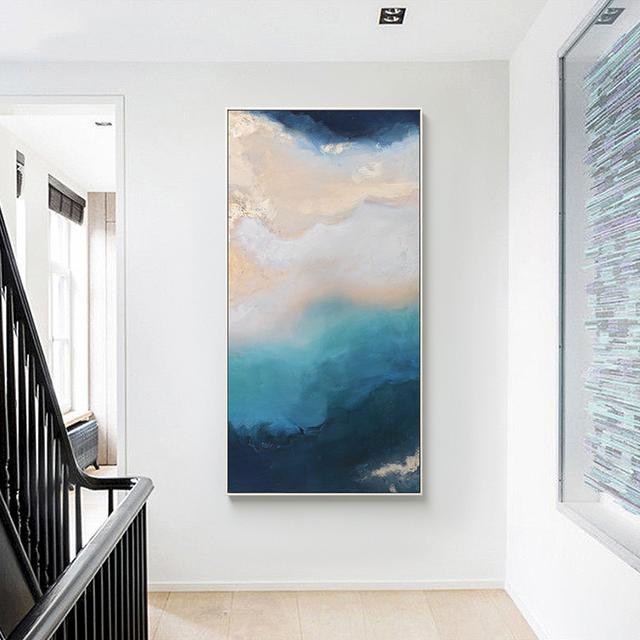 玄关墙壁如何装饰设计 这些装饰壁画案例有你喜欢的吗
