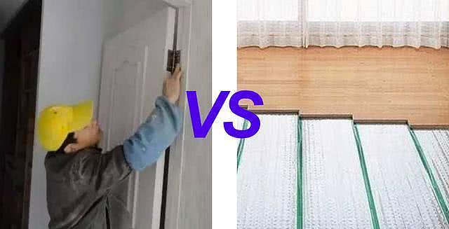 装修中到底是先装门还是先铺地板