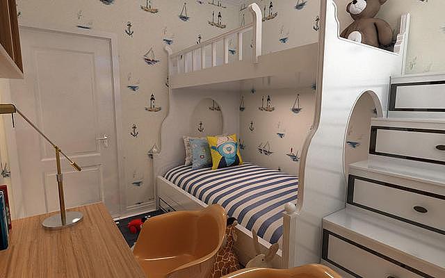 家有俩娃儿童房如何装修设计 这些案例你是否喜欢呢