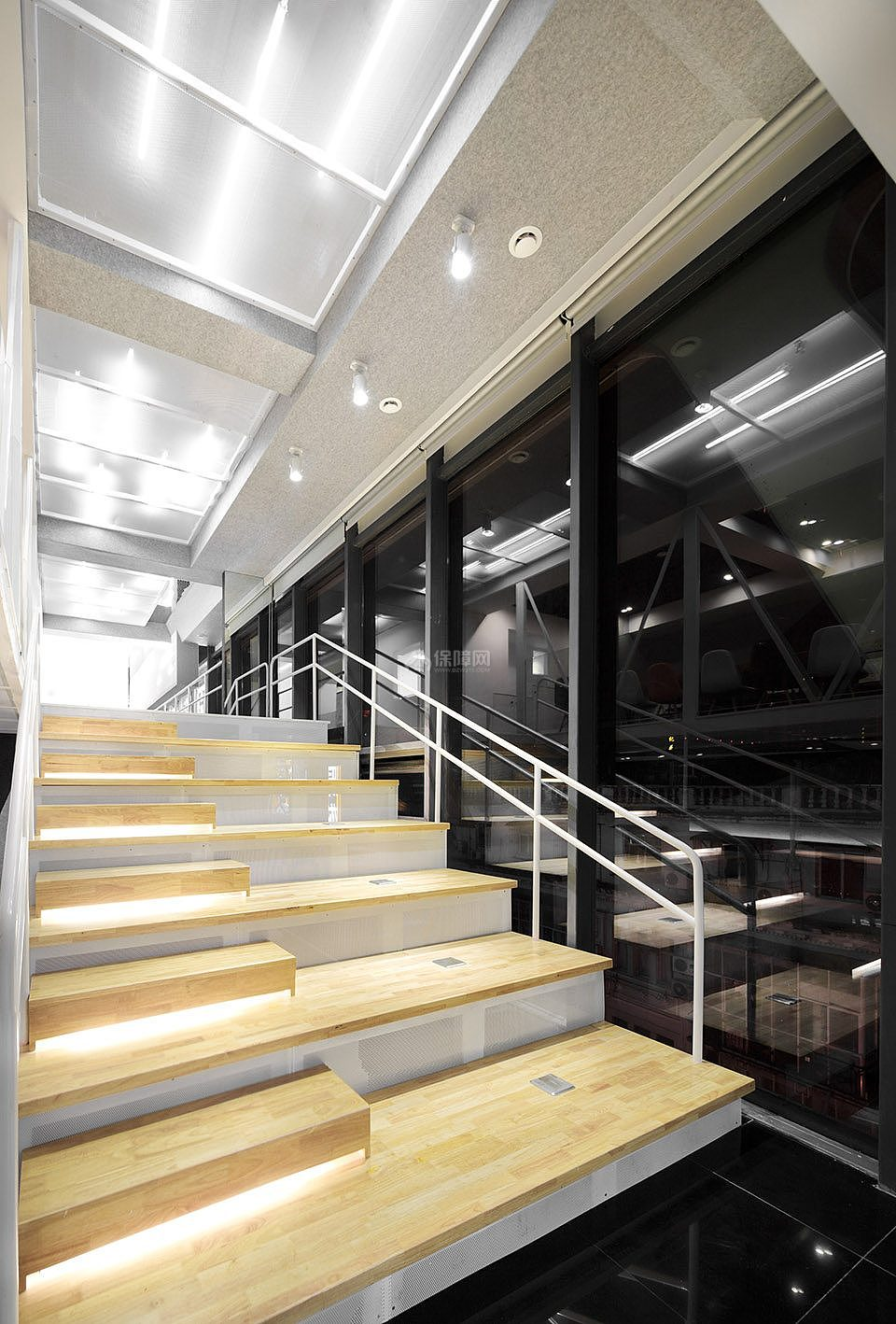 HUB板游戏之主楼梯设计效果图