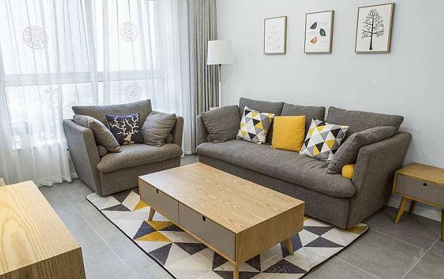 新房北欧风格家居装饰 冬日的你可能还差一个温暖的抱枕