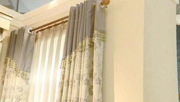 家居轨道式窗帘杆安装 更具时尚和实用性