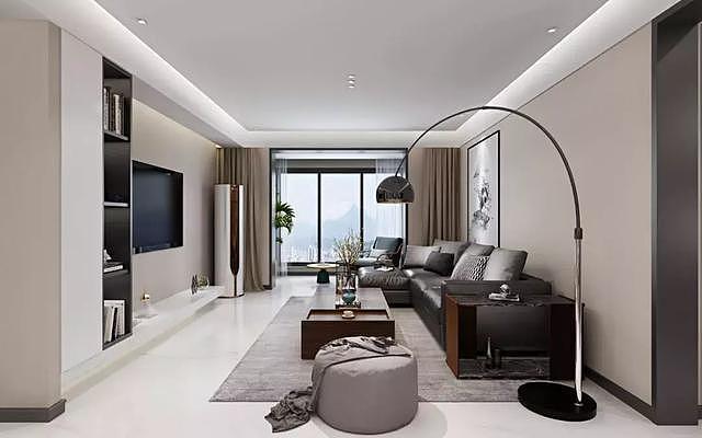 160平米现代简约风设计 打造品质生活家居空间