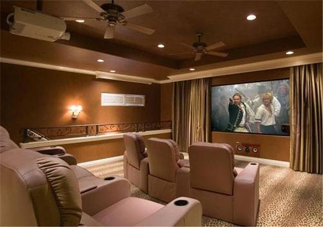 客厅家庭影院设计方案 教你如何设计家庭影院