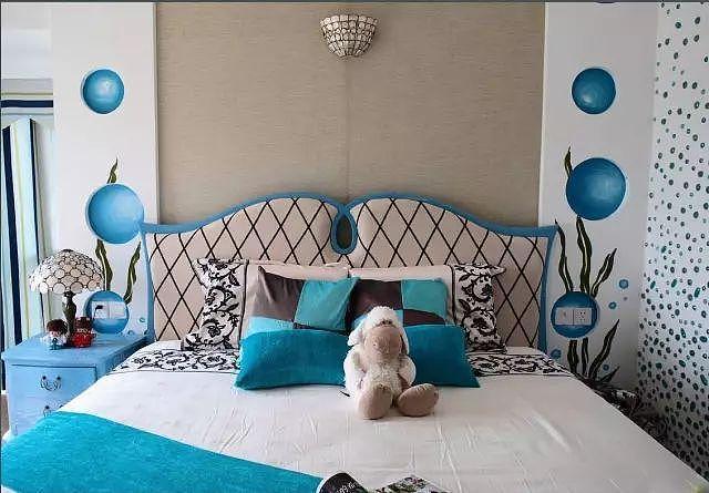 89㎡地中海风 家里的设计温馨有格调!