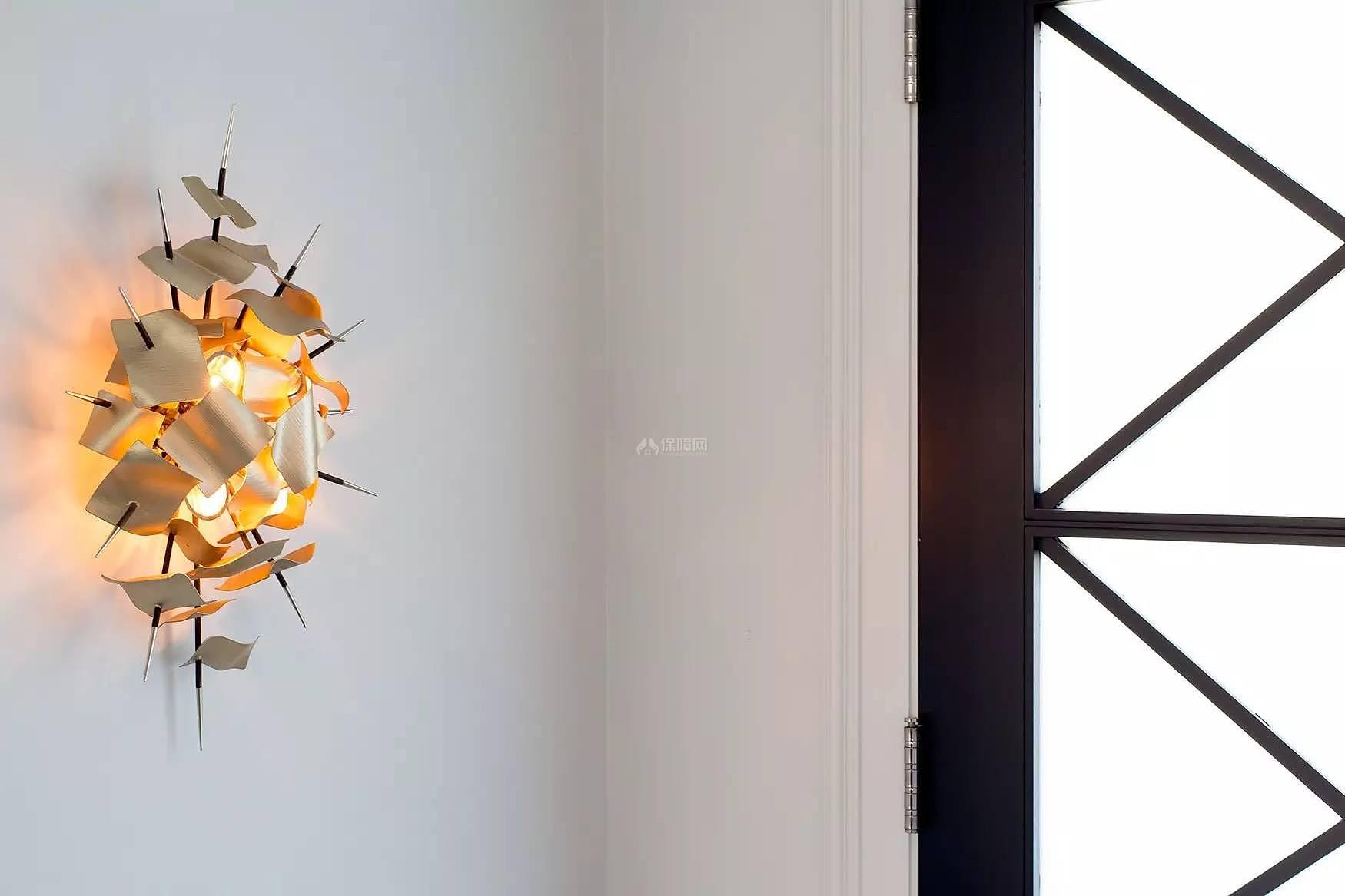 289平时尚大气的别墅之墙面壁灯装饰