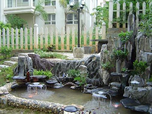 别墅前后说法养鱼花园有风水浑南别墅配套图片