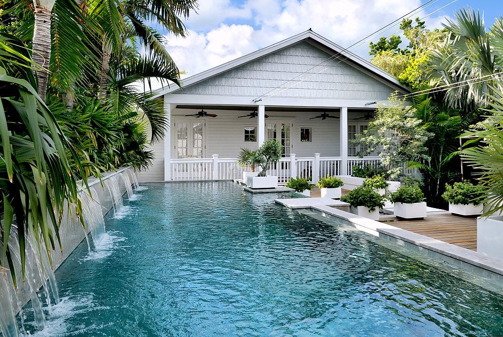 别墅游泳池如何设计 彰显富贵风水好