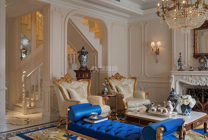 法式风格装修,它弥漫着复古,又突显贵族气质.