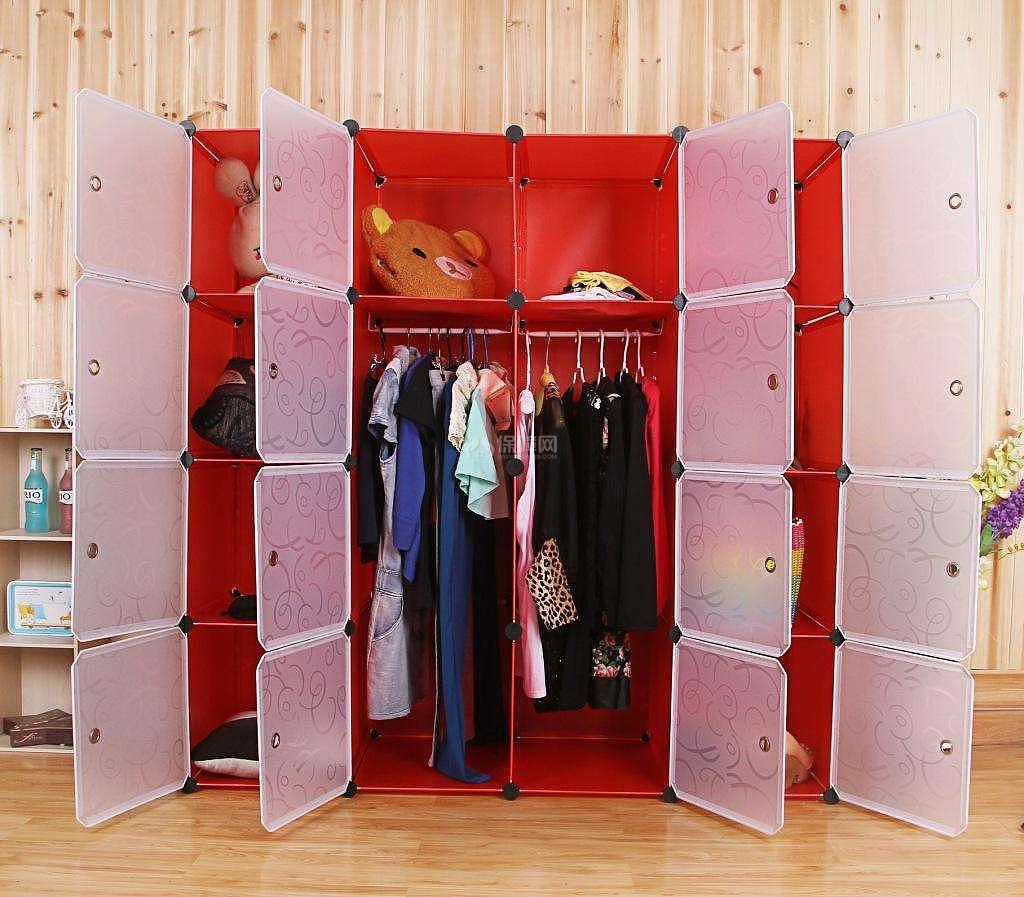 塑料衣柜怎么组装教程_塑料组装衣柜